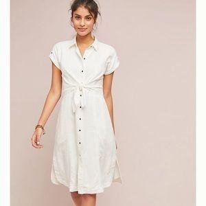 Maeve by Anthropologie linen dress 10 NWOT